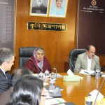 IFPRI Presents Changing Scenario of Bangladesh Agriculture to Ministry