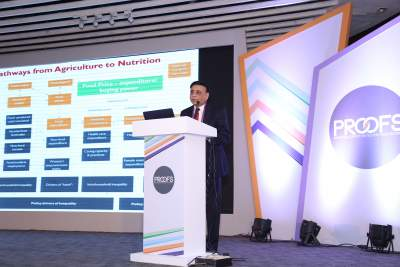 IFPRI Delivers Keynote on Food and Nutrition Security